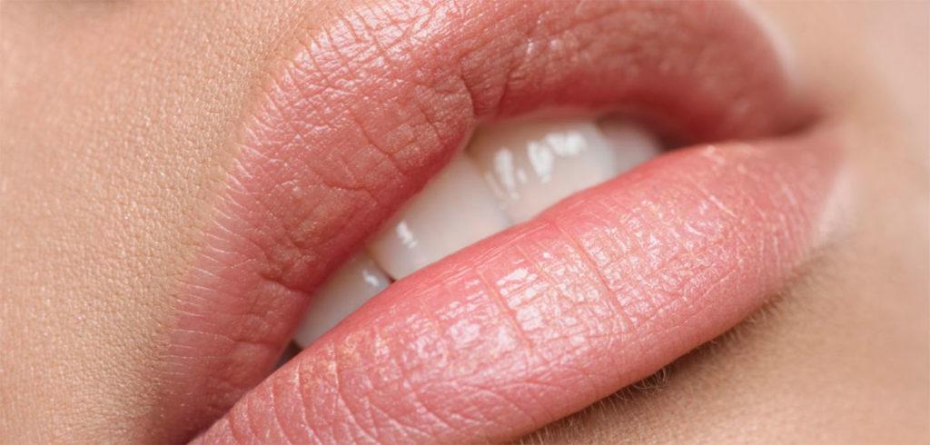 красивые губы без помады