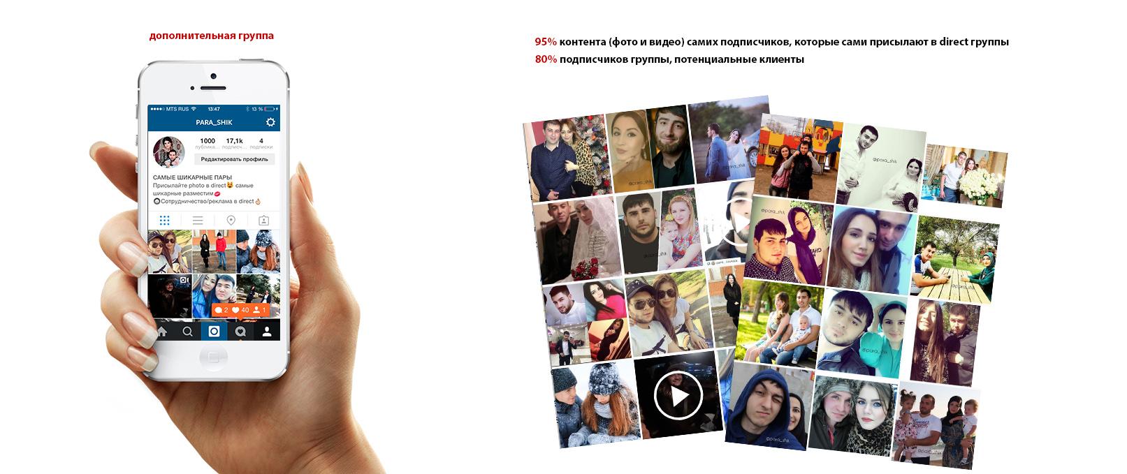 администрирование Instagram подписчики