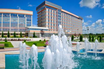 Размещение наружной рекламы 3х6 в Чеченской республике, город Грозный, печать баннеров и монтаж, постоплата до 40 рабочих дней
