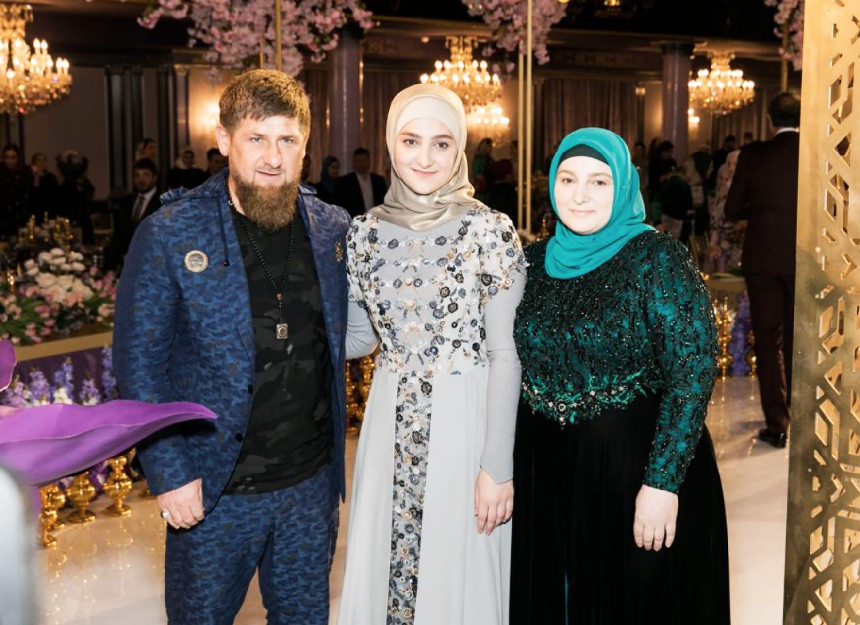 Фото кадырова на свадьбе