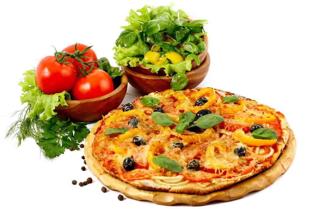 Мода на еду пицца