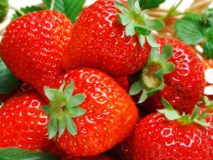 Фрукты и ягоды – залог здоровья клубника