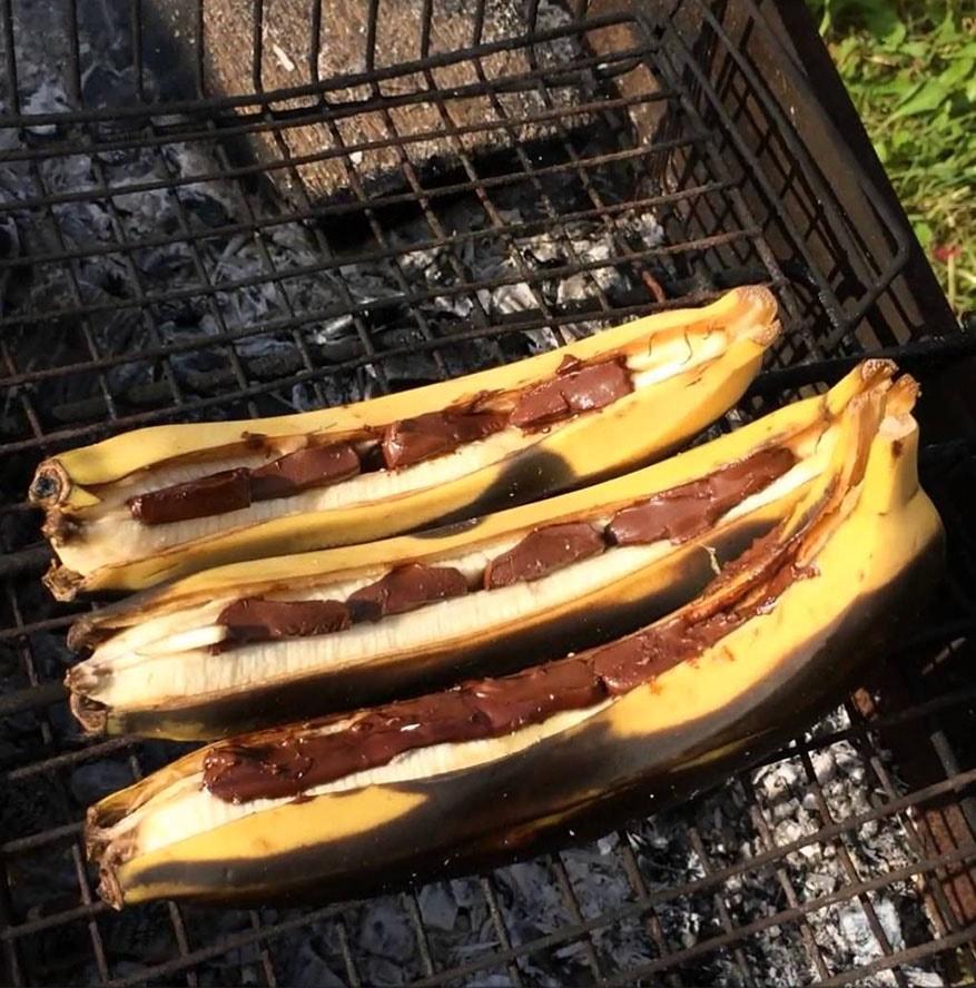 Раздельное питание бананы