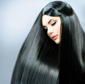Во всем блеске волосы