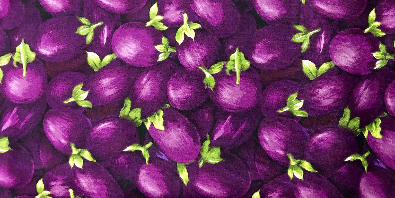 на принте овощи