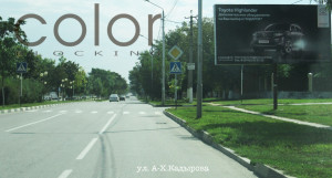 наружная реклама в Чечне Кадырова
