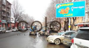 наружная реклама в Владикавказе щиты 3х6