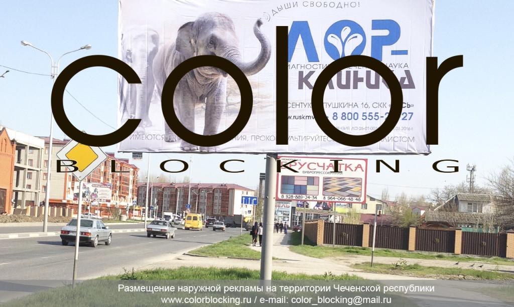 Рекламные щиты в Грозном Чечня