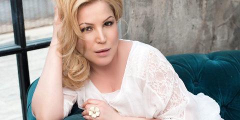 """Юлия Артемова, певица, фото со съемок клипа """"Перепутала"""""""