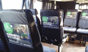 Реклама на транспорте борта ТС