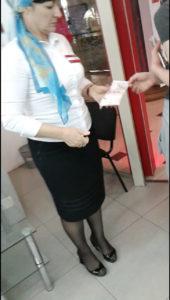 Раздача листовок в Грозном проспекты