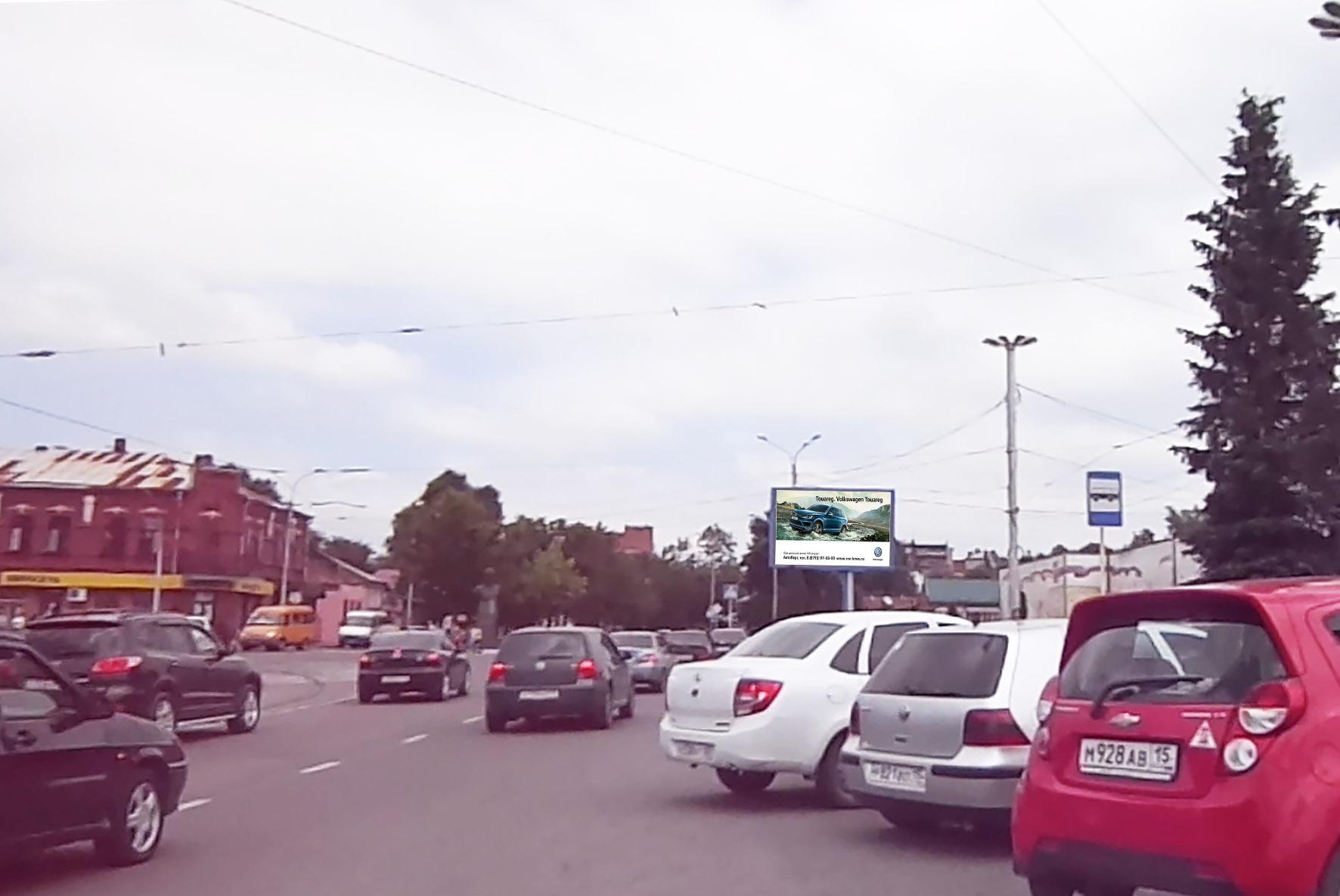 Размещение рекламы на светодиодных экранах в Владикавказе Осетия