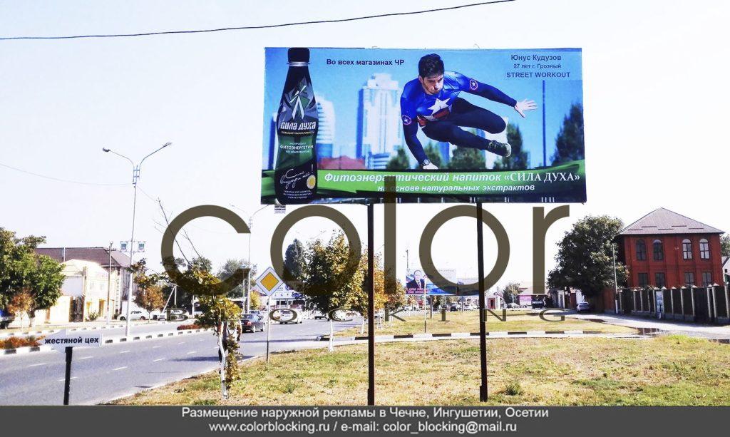 Проведение рекламной кампании в Грозном наружная реклама