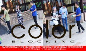 Рекламная кампания в Чечне буклеты