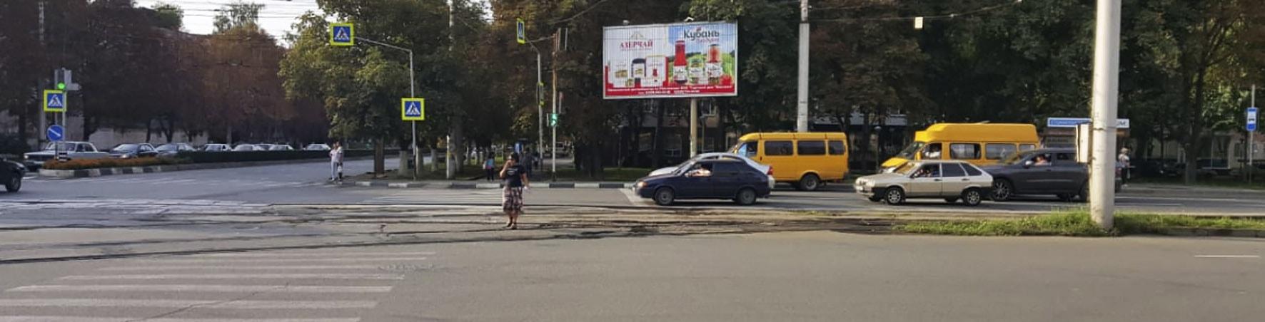 Реклама на щитах 3х6 в Владикавказе Осетия