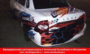 Брендирование транспорта в Чечне и Ингушетии Грозный