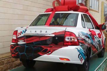 Брендирование транспорта в Чечне и Ингушетии самоклейка