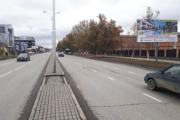 Размещение рекламы в Грозном билборды