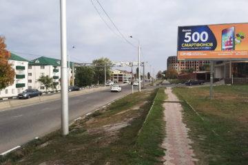 Аренда билбордов 3х6 в Грозном телефон
