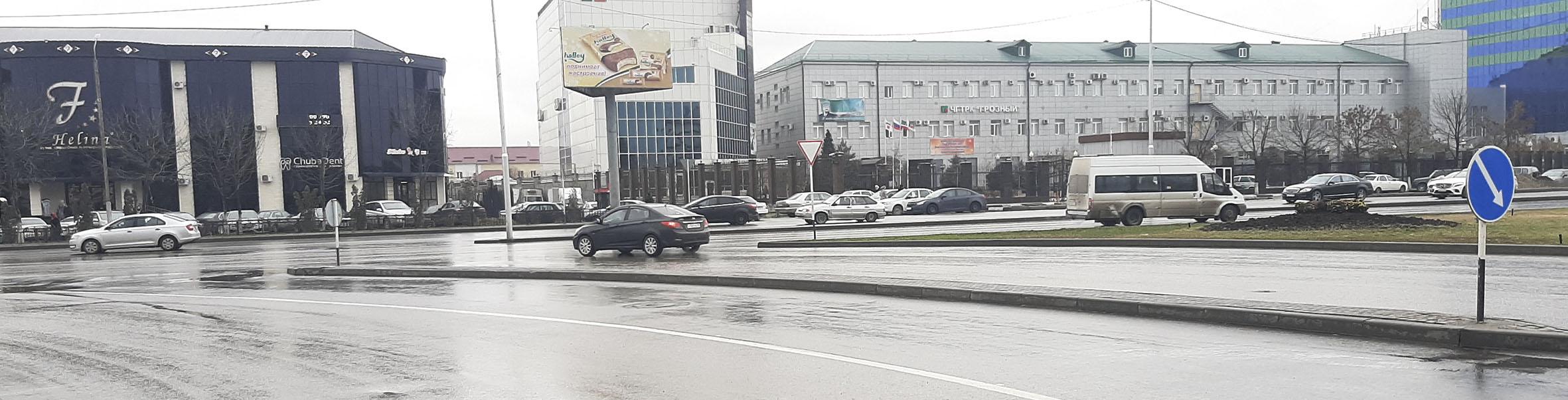 Реклама в Грозном на щитах 3х6 билборды