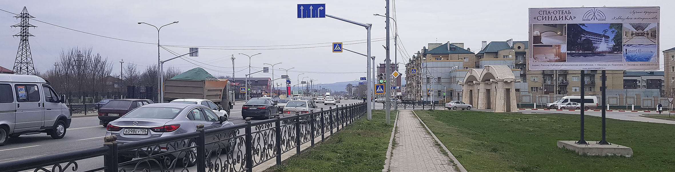 Наружная реклама на билбордах в Гудермесе Чечня