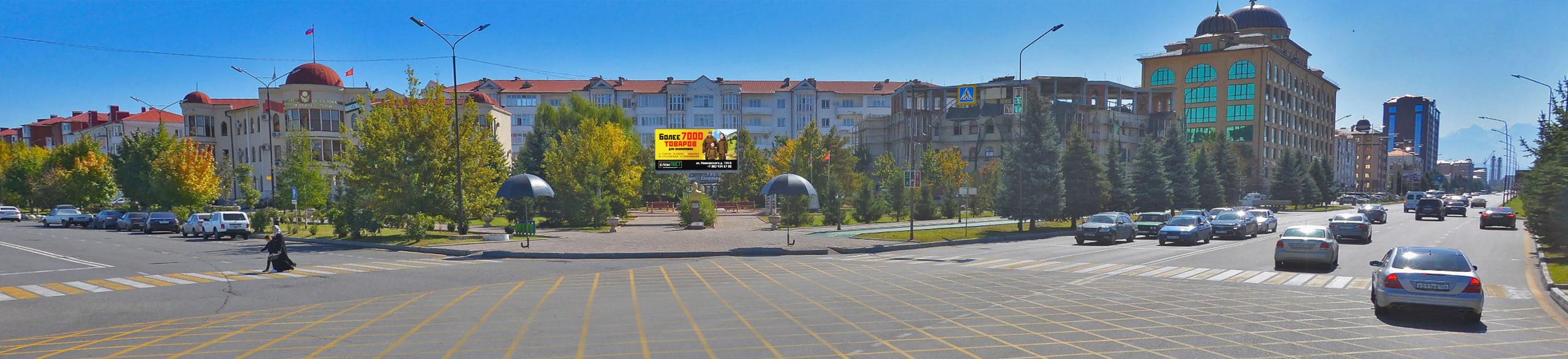 Размещение рекламы на светодиодных экранах в Ингушетии 3х6