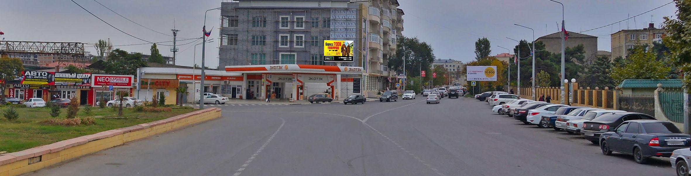 Реклама на LED мониторах в Дербенте экраны