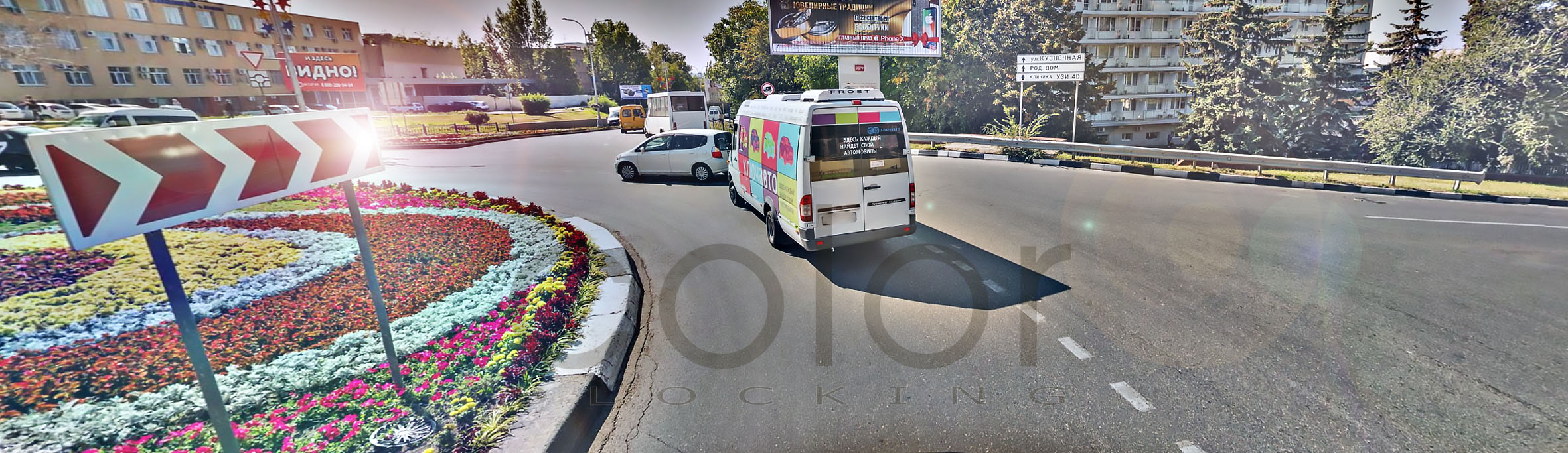Реклама на транспорте в Кисловодске заказать