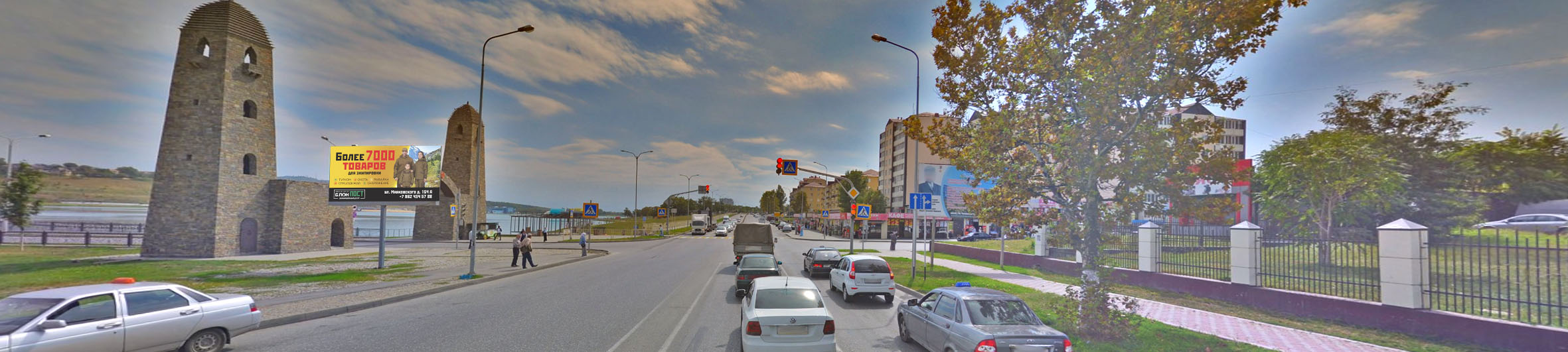 Реклама на билбордах в Чеченской Республике Грозный