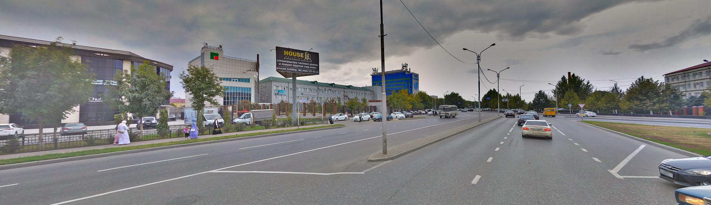 Реклама на билбордах в Чеченской Республике 3х6