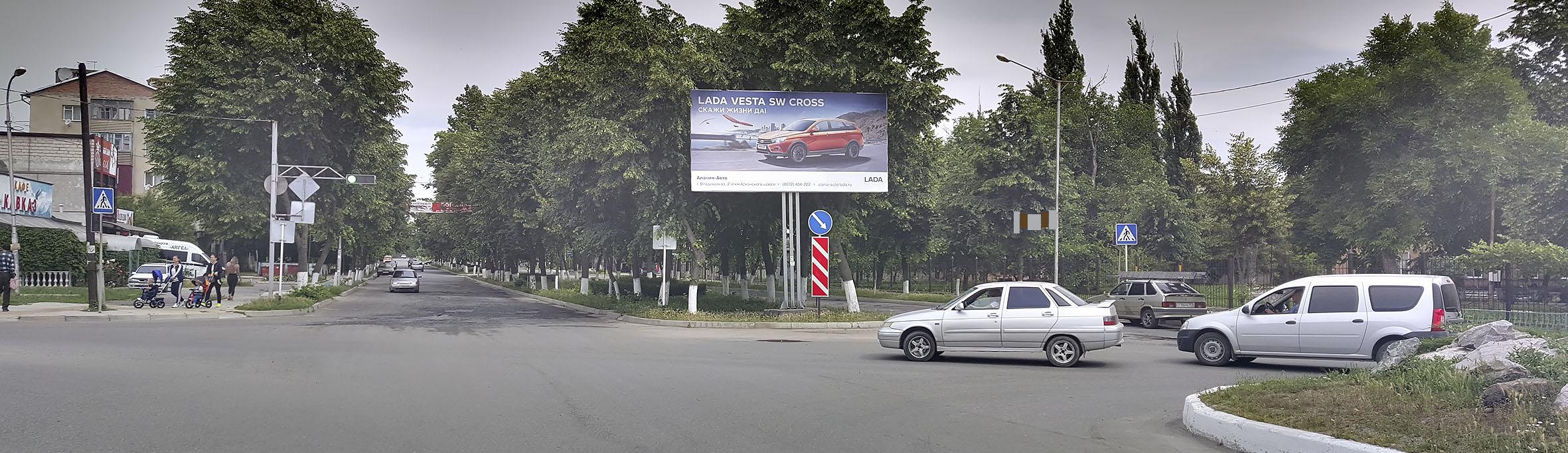 Реклама на билбордах в Моздоке щиты