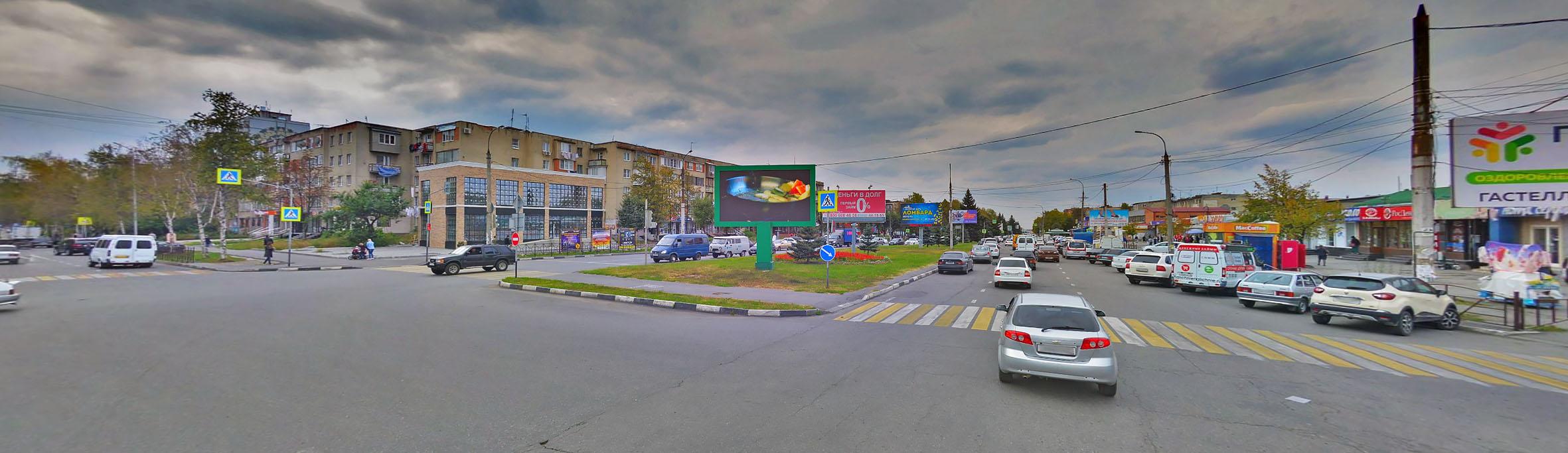 Реклама на билбордах в РСО-Алания 3х6