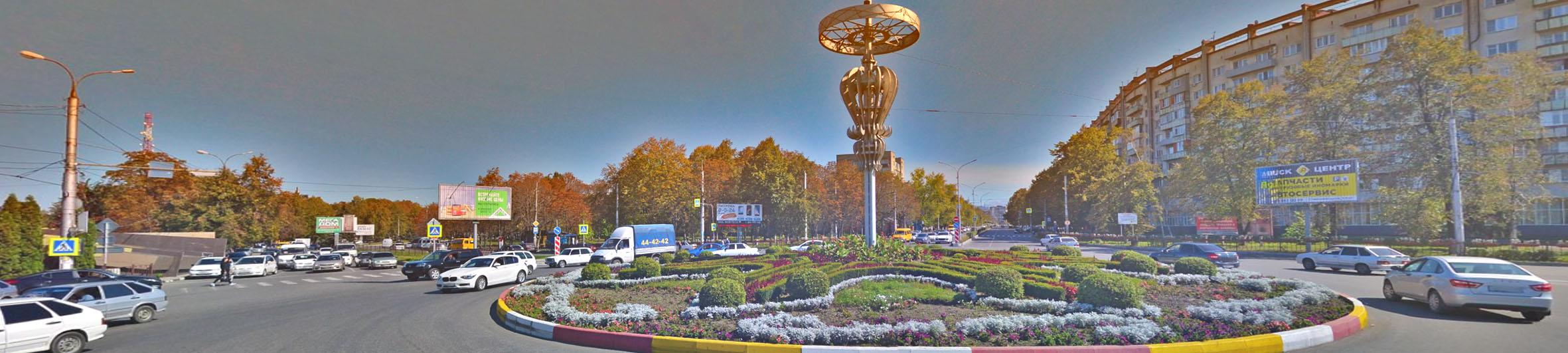 Реклама на билбордах в РСО-Алания Владикавказ