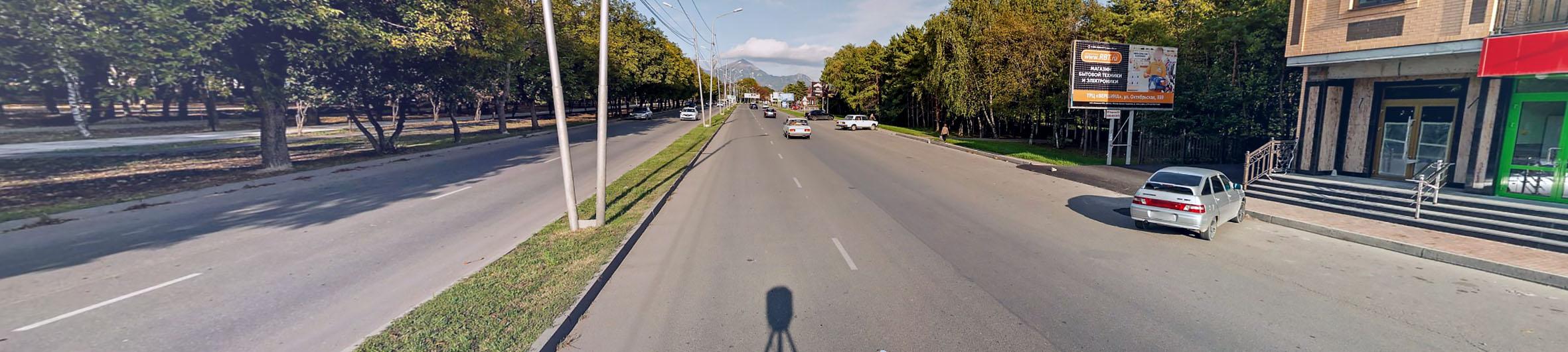 Реклама на билбордах в Ставропольском крае Ессентуки