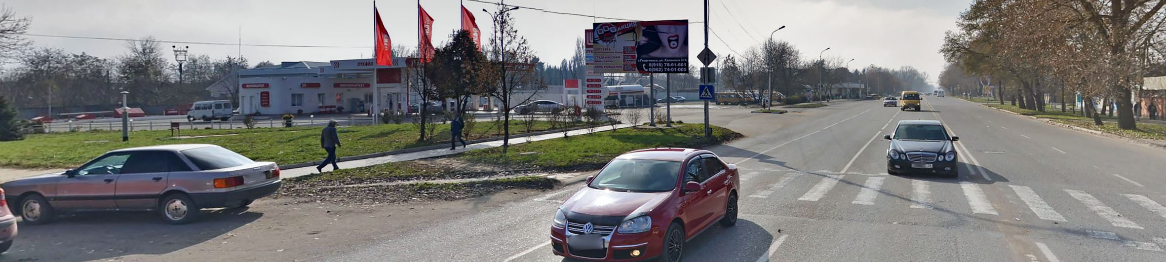Реклама на билбордах в Ставропольском крае Георгиевск