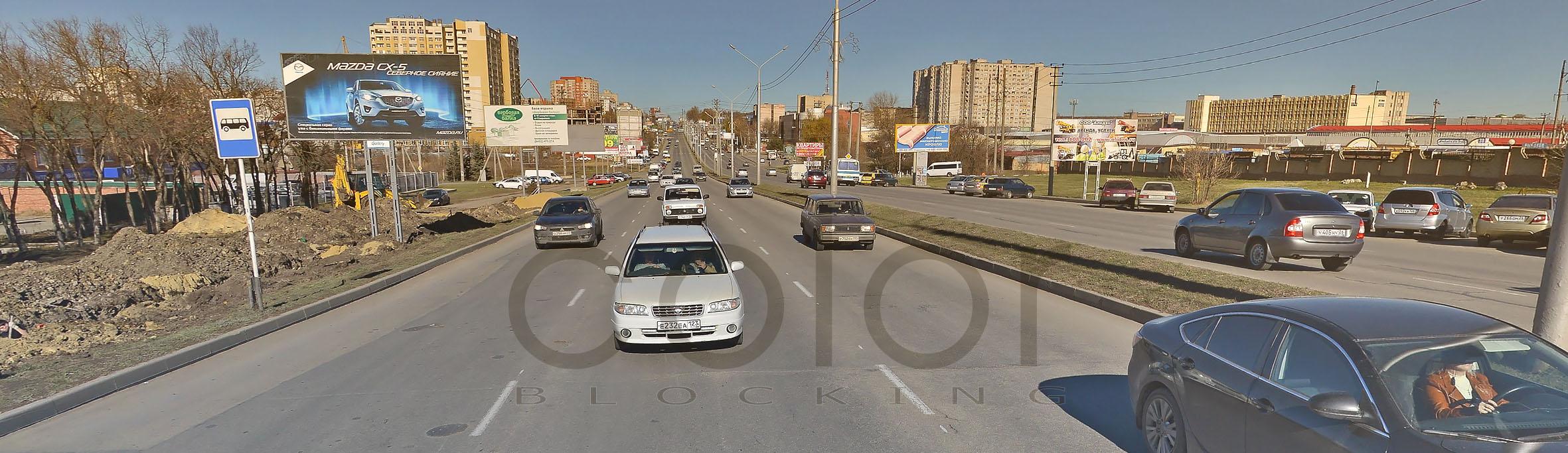 Реклама на билбордах в Ставрополе 6х3